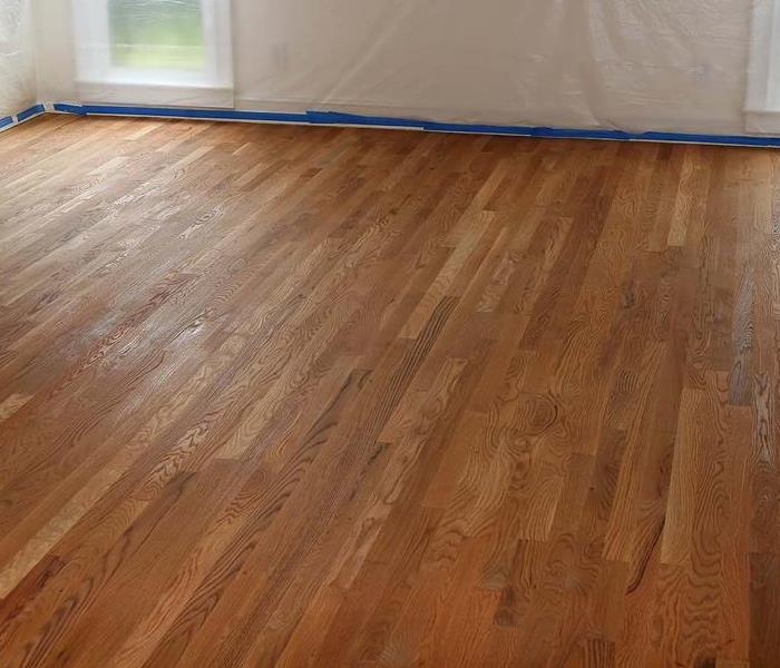 Hardwood Floor Water Damage After
