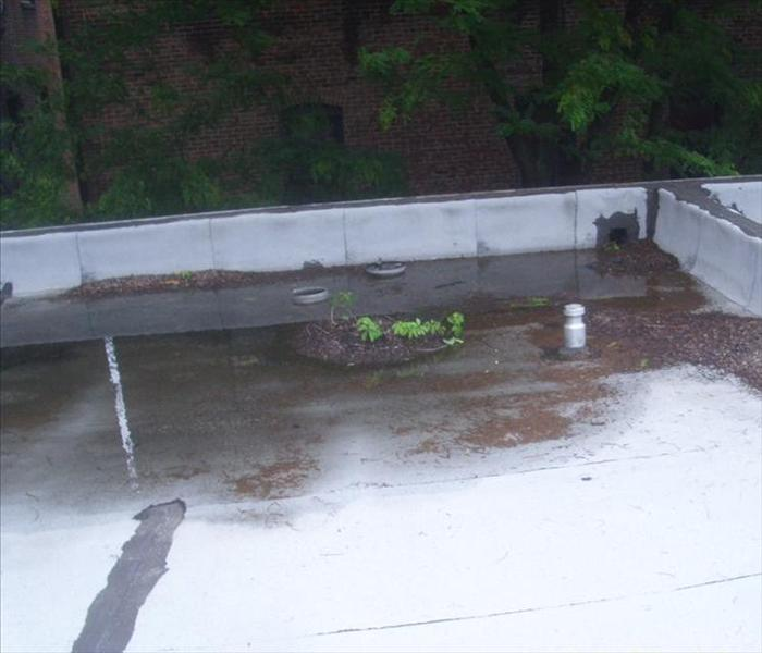 Flooded Basement In Commercial Property: SERVPRO Of Society Hill Before And After Photos
