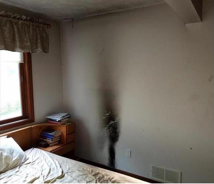 Small Bedroom Fire