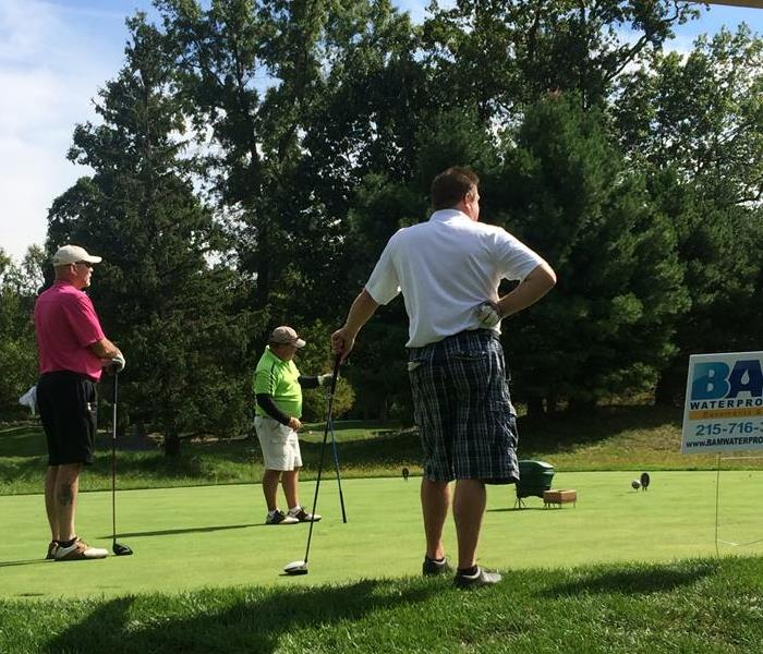 SERVPRO Annual Golf Outing