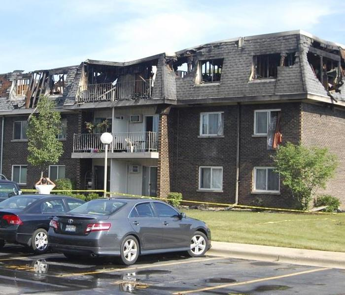 Multiple Apartments Destroyed From a Fire