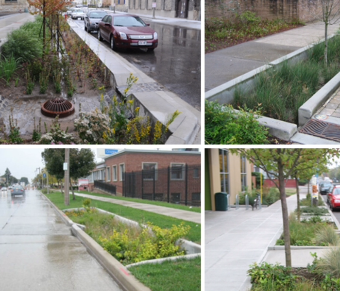 General Philadelphia Green Projects Help Reduce Basement Floodings