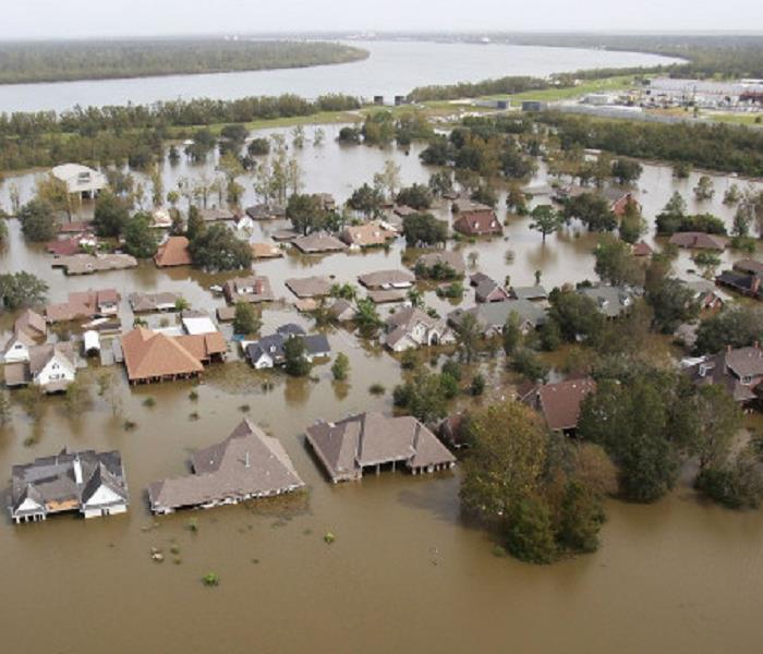 Storm Damage Louisiana Flooding Disaster leaves 40,000 homes flooded