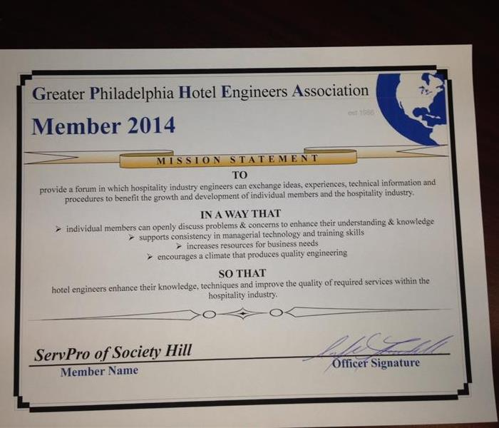 Commercial Greater Philadelphia Hotel Engineers Association