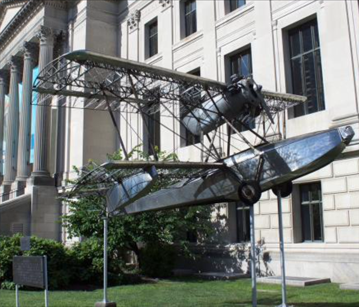 General Aircraft in front of Franklin Institute to be Restored